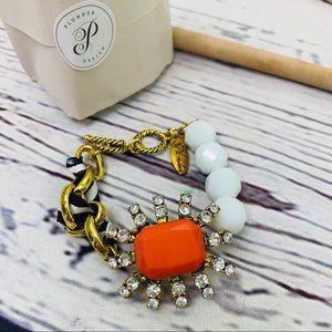 Plunder designs bracelet Ambrosia rhinestone gold